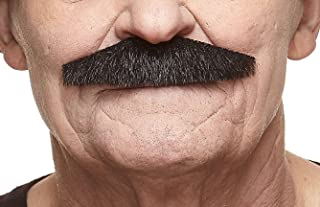 Mustaches Fake Mustache, Self Adhesive, Novelty, PolicemanFalse Facial Hair, Costume Accessory for Adults