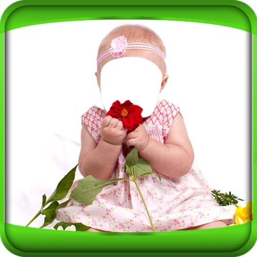 Montaje de la foto del bebé