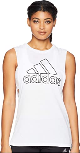 Badge of Sport Muscle Tank Top