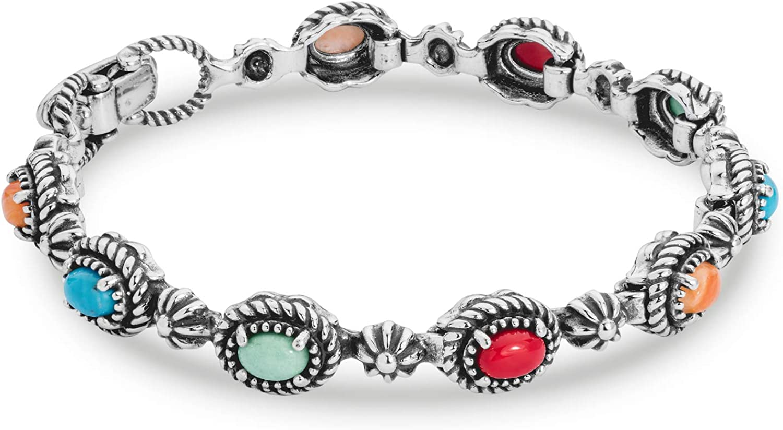Sterling Silver Ladies Bracelets Bangle Gemstone Jewellery Gift Jewelry Unique Turquoise Bracelets gemstone bracelet for women