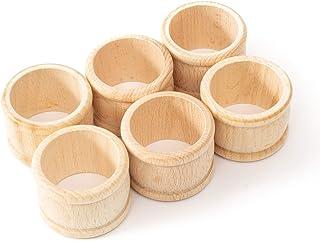 Holders NR00000078 Azeeda 5 x I Love South Korea Wooden Napkin Rings