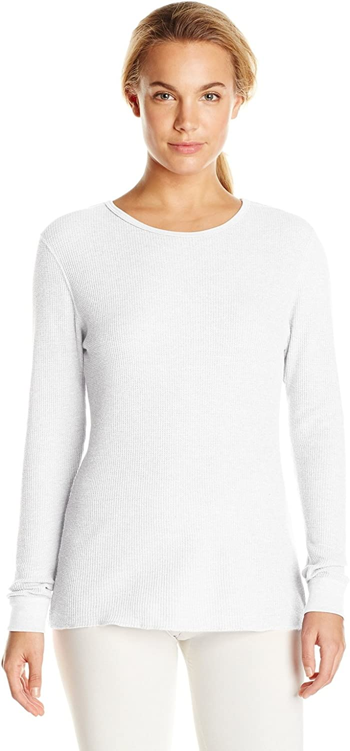 Fruit of the Loom Women's Thermal Waffle Top