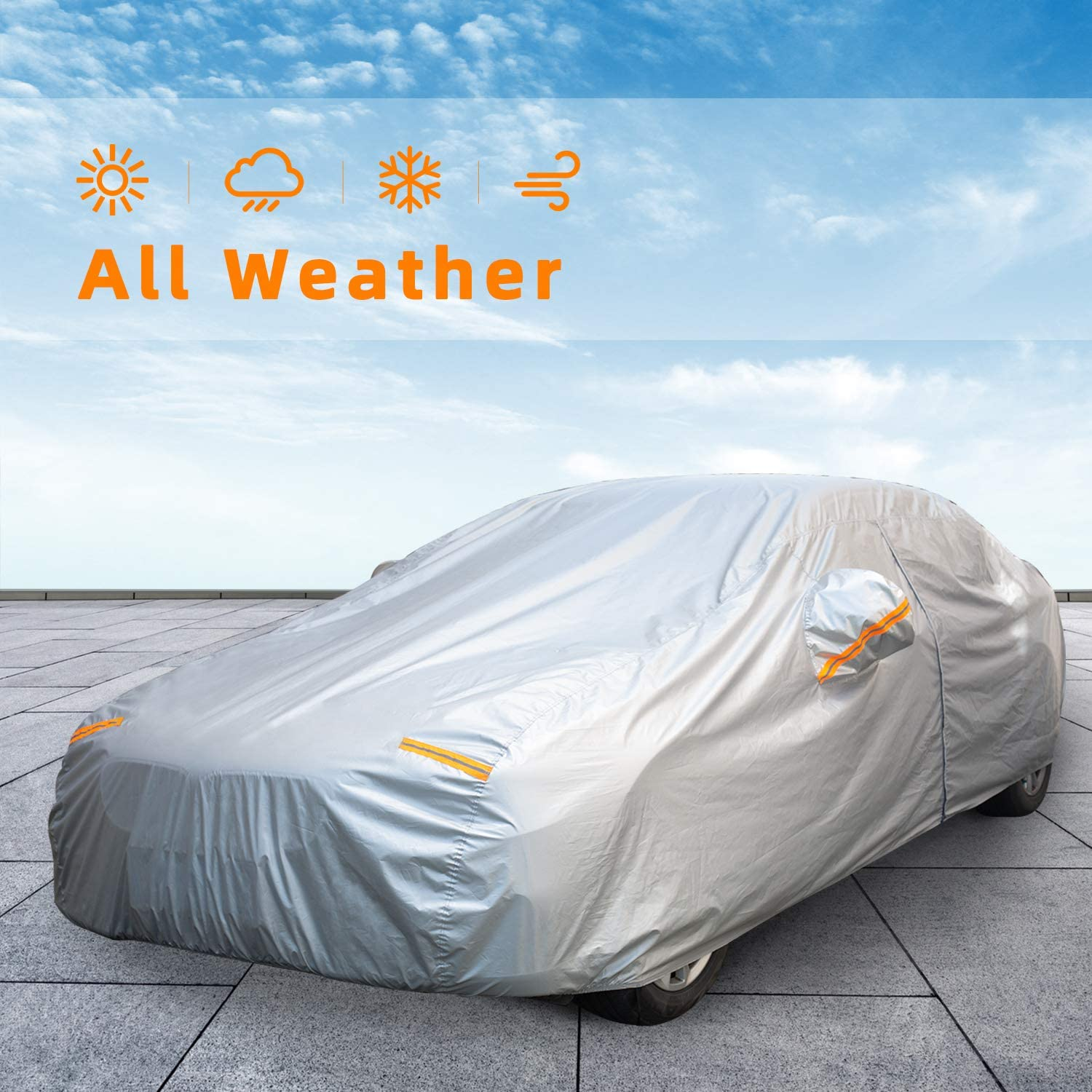 Autsop Car trust Cover Max 80% OFF Waterproof All Automobiles Weather Outdoor for
