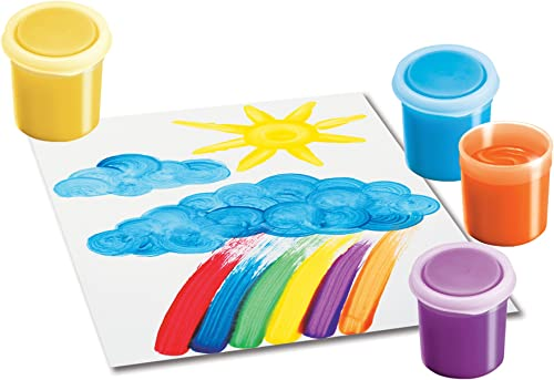 Rosa Art Cym28 Washable Finger Paints Set