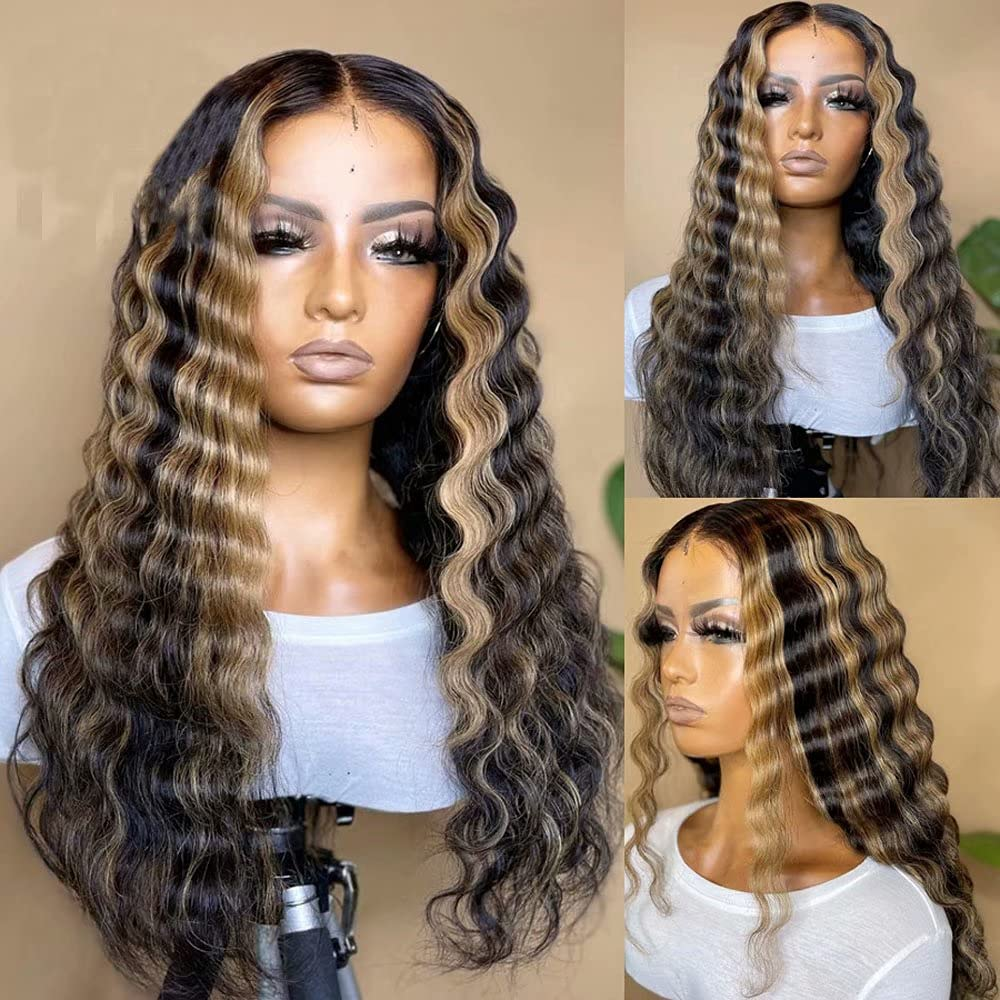 Oulaer Hair Highlight 1B27 Color Brazilian Max 80% OFF 13x6 Genuine Free Shipping Human Remy