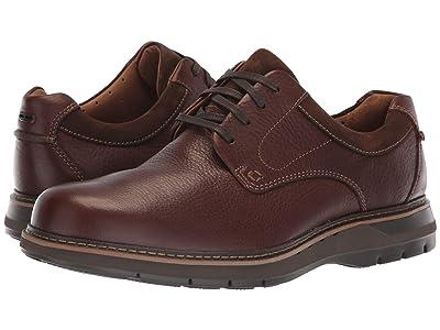 Clarks Un Ramble Lo (Mahogany Leather) Men