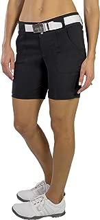 New Belted Golf Short - Black