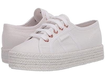 Superga 2730 Cotropew (White/Rose) Women