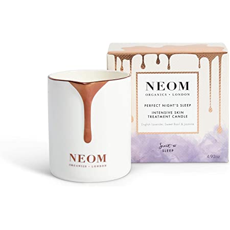 NEOM – Perfect Night's Sleep Intensive Skin Treatment Candle (4.93 oz) - Nourishing with Essential Oils