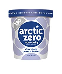 Arctic Zero, Non-Dairy Desserts, Chocolate Peanut Butter, 16 oz (Frozen)