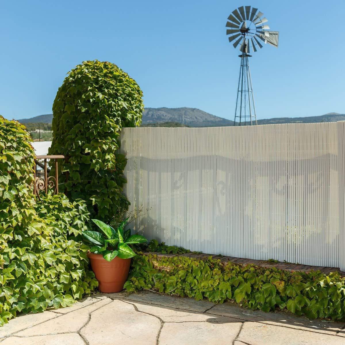 Cañizo Artificial de ocultación de PVC para jardín - LOLAhome: Amazon.es: Hogar