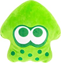 Club Mocchi Mocchi Splatoon 2 Mega Neon Green Inkling Squid Plush Stuffed Toy