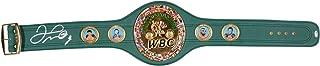 Floyd Mayweather Autographed Full Sized WBC Green Championship Belt - BAS - Beckett Authentication - Autographed Boxing Championship Belts