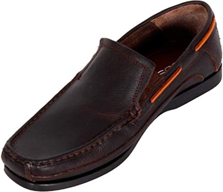 Ruosh Men's Beige Boat shoes-11 UK India (45 EU)(AW18 Ally 01B)