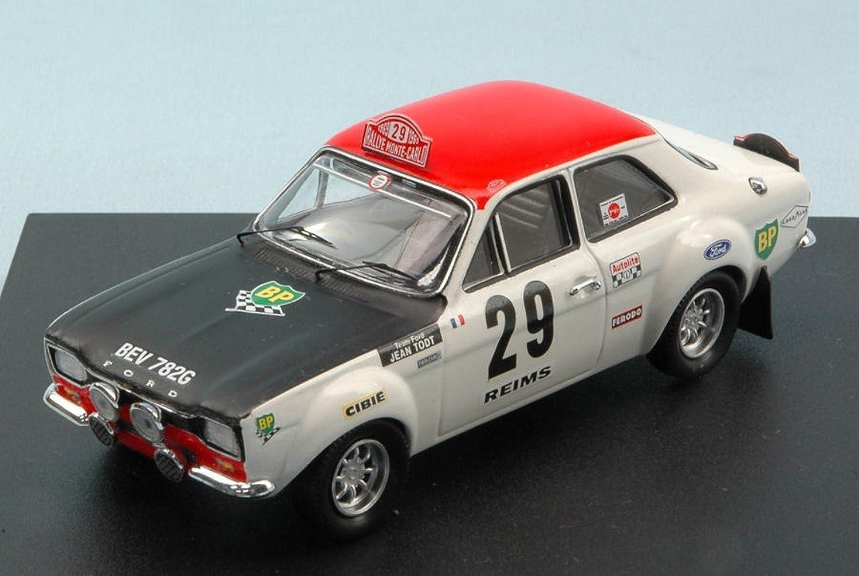 TROFEU TF0516 FORD ESCORT RS 1600 N.29 MONTEautoLO RtuttiY 1969 PIOT-TODT 1 43
