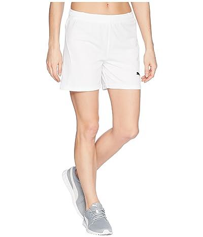 PUMA Liga Shorts (Puma White/Puma White) Women