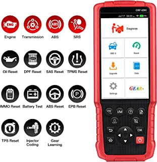 LAUNCH X431 CRP429C OBD2 diagnoseapparaat OBD1 OBD2 scanner ABS SRS ENG codelezer ONE Click update oliereset, TPMS-reset, ...