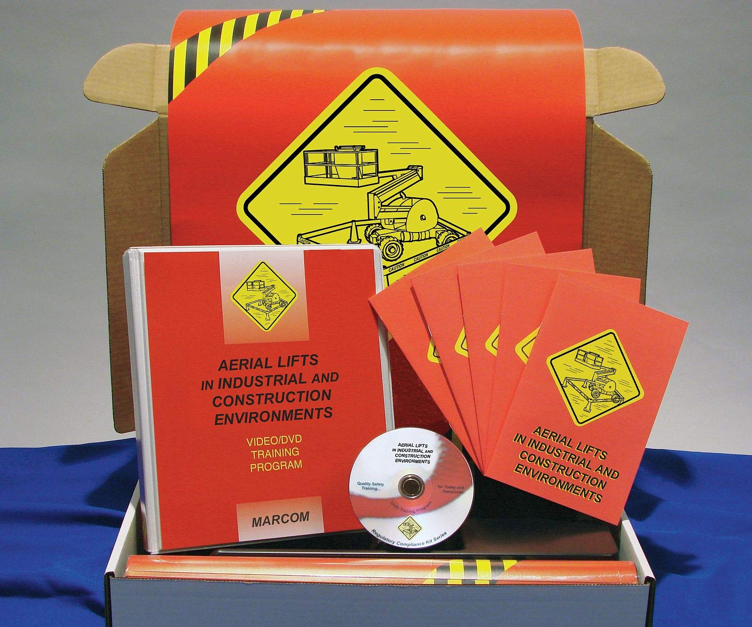 shipfree Marcom Group K0001719EO Aerial Training Same day shipping DVD Kit Lifts