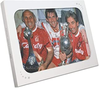 Roy Evans And Ronnie Moran Signed Liverpool Photo: The Boot Room In Gift Box | Autographed Sport Memorabilia