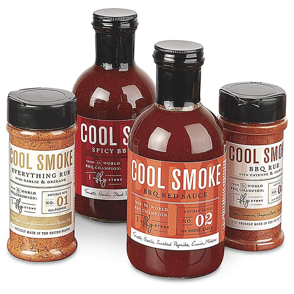 Cool Smoke: Tuffy Set trust Stone BBQ Directly managed store