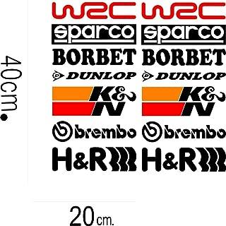 CVANU Indiashopers Racing Sponsors Graphic Decal Logo -14 Pieces