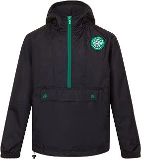 Celtic FC Official Soccer Gift Mens Shower Jacket Windbreaker