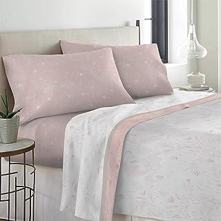 Amazon It Completo Lenzuola Matrimoniali Rosa Set Di Lenzuola E Federe Lenzuola E Fe Casa E Cucina