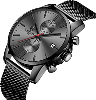 GOLDEN HOUR Men's Watches Fashion Sport Quartz Analog...