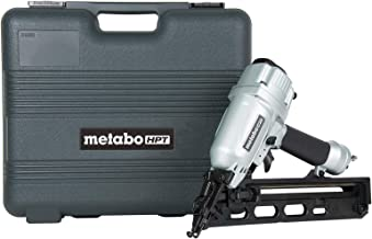 Metabo HPT Finish Nailer, 15 Gauge, Pneumatic, Angled, Finish Nails 1-1/4-Inch up to..