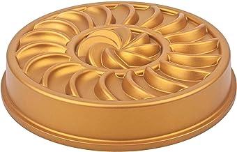 Bundt Pan (Gold,Lap-6350) Cast Aluminum, excellent non-stick performance,non-flamable,scratch-resistant