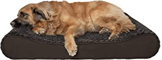 FurHaven Pet Dog Bed   Orthopedic Ultra Plush Luxe Lounger Pet Bed for Dogs & Cats, Chocolate, Jumbo Plus