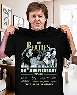 60 years of The Beatles Shirt for Women Men - The Beatles signature The Cool Perfect Gift Idea For Cool Fans