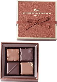 メゾンデュショコラ LA MAISON DU CHOCOLAT プラリネ 4粒入り メゾンデュショコラ チョコレート バレンタイン バレンタインデー ホワイトデー 贈答 ギフト