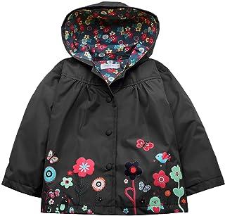 3b8a095b6 Arshiner Girl Baby Kid Waterproof Hooded Coat Jacket Outwear Raincoat  Hoodies