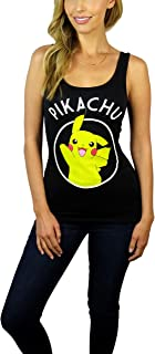 Pokemon Womens Pikachu Graphic Tank Top
