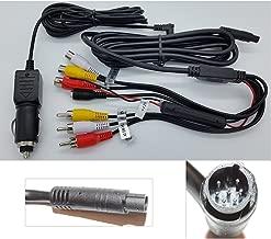 Headrest DVD Player Cigarette Lighter Power Supply Cabe +AV Cable- SMALL END…