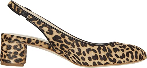 Mini Cheetah Haircalf Print Leather/Black Leather