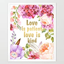 Best bible quote love is always patient and kind Reviews