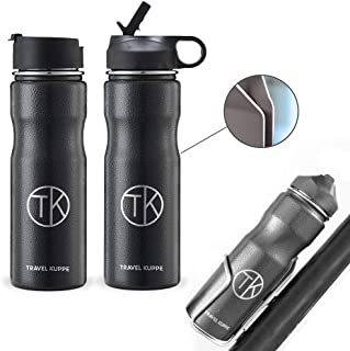 Best stainless steel cycling water bottle Reviews