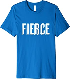 "Empowering ""Fierce"" Inspirational T-Shirt for Superkids"