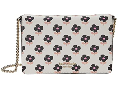 Kate Spade New York Spencer Block Floral Chain Wallet
