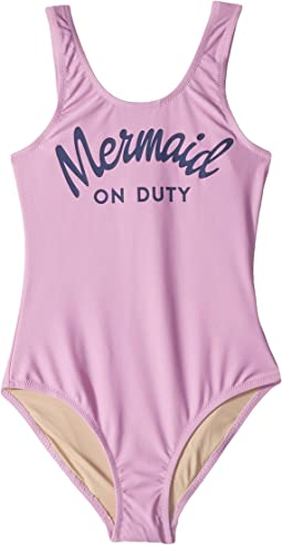 Mermaid On Duty One-Piece (Little Kids/Big Kids)