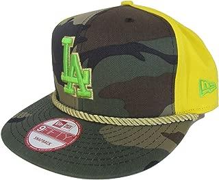 New Era Los Angeles Dodgers Men's 9Fifty Snapback Cap Hat - Yellow/Camo/Gold