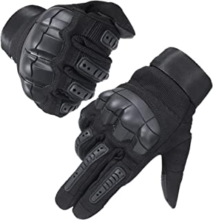 leather knuckle gloves
