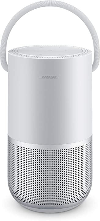 Bose portable smart speaker - con controllo vocale alexa integrato, argento 829393-2300