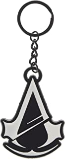 Assassin's Creed Unity Metal Keychain (Black/White)