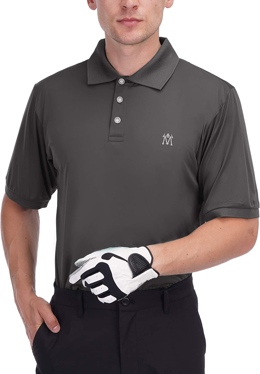 Bakery Men's Quick Dry Detroit Mall Golf Tech Lightwei Performance Free shipping on posting reviews Polo Shirt