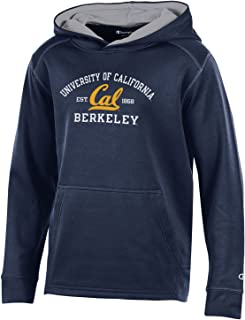 Bag2School University Of California UC Berkeley Champion NCAA Cal Bears Kids Boys Youth Athletic Fleece Hood