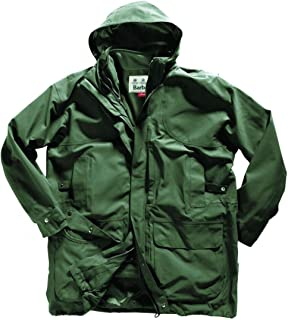 Barbour Sporting Ultimate 3 in 1 Jacket Coat Olive Green Mens XXL