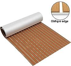Zeeos EVA Foam Teak Floor Decking Sheet (94.5''x36'')